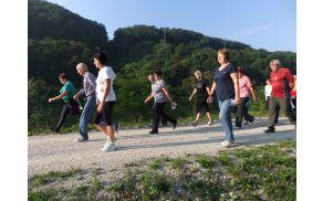 Hoja na 2 km - start skupine