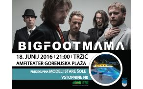 Big Foot Mama na Gorenjski plaži