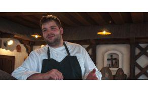 Luka Košir, glavni chef in lastnik gostišča Grič