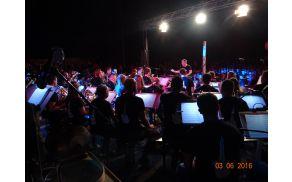 Snemanje in rock koncert 2