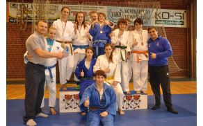 Ekipa Judo kluba Acron Slovenj Gradec na državnem prvenstvu