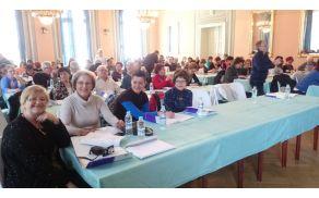 Udeleženci Društev invalidov iz cele Slovenije na usposabljanju za aktivno sodelovanje in neodvisno življenje invalidov
