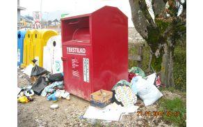Tudi odpadki so odraz kulture občanov (foto: arhiv Občine Preddvor)