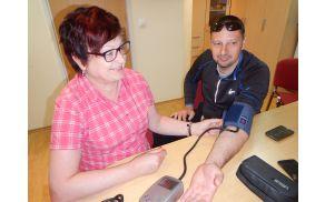 Nasvet: spremljajte svoj krvni tlak!