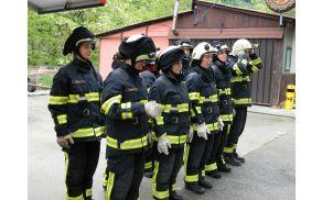 Kanalski gasilci. foto: Danijel Markič