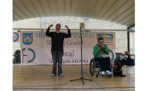 Stojan Rozman,  Društvo paraplegikov Koroške, organizator festivala