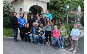 Udeleženci šmarnic v Prekopi