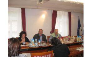 Novinarska konferenca pred začetkom letošnjega festivala Kogojevi dnevi; Foto: arhiv Občine Kanal ob Soči