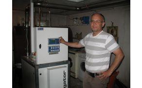 Milan Petrič s svojo mikro SPTE  enoto