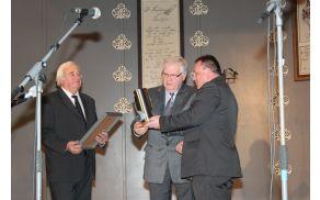 Jožef Žlaus je prejel  priznanje za življenjsko delo na področju kulture.