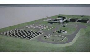 Tako naj bi bila videti leta 2015 centralna čistilna naprava v Vrtojbi. (Vir: MONG)