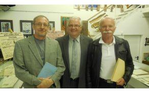Trije poznavalci Bezenška: dr. Branko Šuštar, Jože Žlaus in Branko Ternovšek