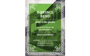 Skupina D Brincl Bend vabi na grad Lemberg.