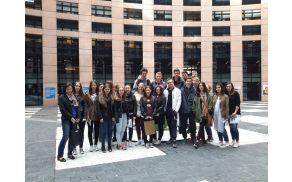 Nagradni izlet v Strasbourg za dijake 2. Ga EGSŠ Radovljica.