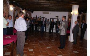 Boris Jež, predsednik uprave Vipava 1894 je poudaril pomembnost povezovanja vinorodnega okoliša Vipava in vipavske regije.