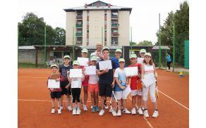 Tečaj tenisa 1 v juliju 2012
