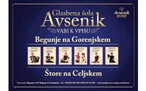 GLASBENA ŠOLA AVSENIK - vpis v novo šolsko leto 2016-2017