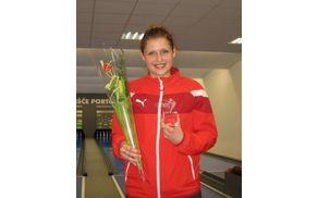 Nika Radelj - štirikratna dobitnica športnega znaka TIM