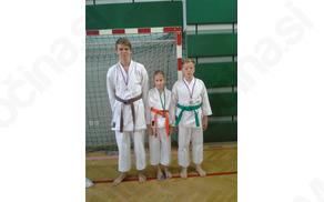 Naši trije z medaljami
