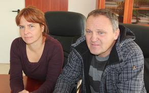 Romana in Igor Hrustelj