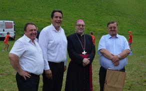 Gostje s predsednikom društva SD Vizore