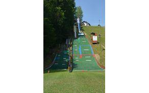 Prenovljene skakalnice