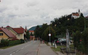 Prušnikova ulica v Vojniku