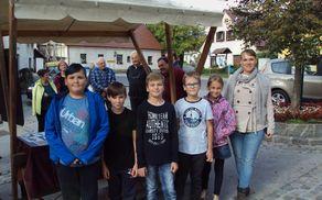 Učenci POŠ Nova Cerkev (foto: Vesna Kotnik)