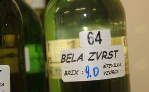 Vsako vino je strokovno analizirano in ocenjeno.
