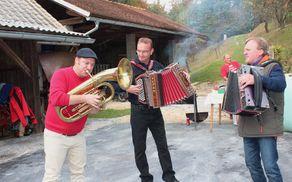 Za dobro vzdušje so poskrbeli odlični muzikantje.
