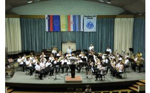 Pridružitev Pihalnemu orkestru Prebold