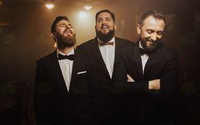 Trije zabavni bradači: Gašper Bergatn, Boštjan Gorenc - Pižama in Perica Jerković