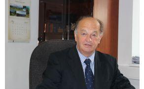 Župan občine Vojnik Benedikt Podergajs