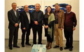 Z leve: Mladen Sumina, Rolf Holub, Rafael Samec, Tanja Prušnik, dr. Peter Kaiser in dr. Gustav Brumnik