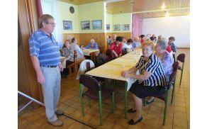 Udeležence piknika je najprej pozdravil predsednik aktiva Andrej Stradovnika