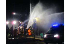 gasilci v akciji