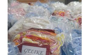 """Gelike """"obujejo"""" tudi novorojenčke v Občini Preddvor (foto Media butik)"""