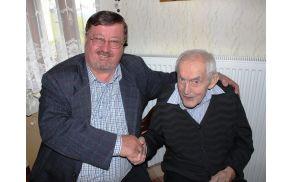 Predsednik sveta KS Nova Cerkev in slavljenec Stanko Landekar