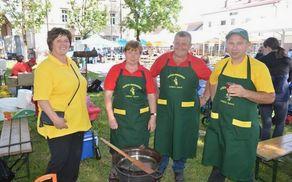 Člani društva zmagali v kuhanju golaža!