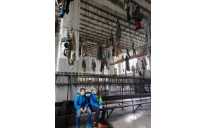 V muzeju premogovništva.