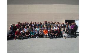 Skupinska fotografija naših udeležencev in predstavnikov občine Središče ob Dravi