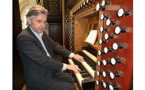 Organist Aart Bergwerff