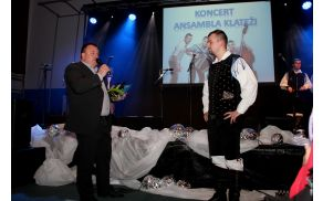 Ob peti obletnici delovanja je Klatežem čestital tudi župan Brane Petre