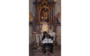 Akordeonist Luka Juhart