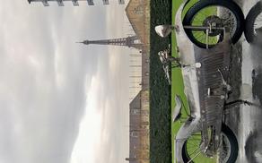 MAJESTIC pred glavno zgradbo UNESCA v Parizu