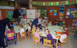 Medeni zajtrk pri prvošolcih