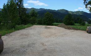 Odsek severne obvoznice v gradnji.