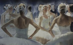 Anna Ivanova (Rusija), Swans behind the scene
