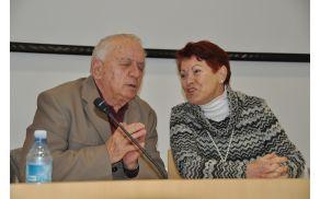 Andrej Jelačin z ženo v krajšem skeču