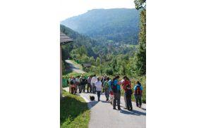 pogled na Črmošnjiško dolino